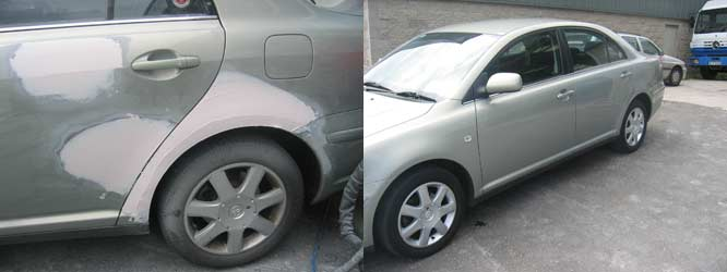 Avensis – before and after