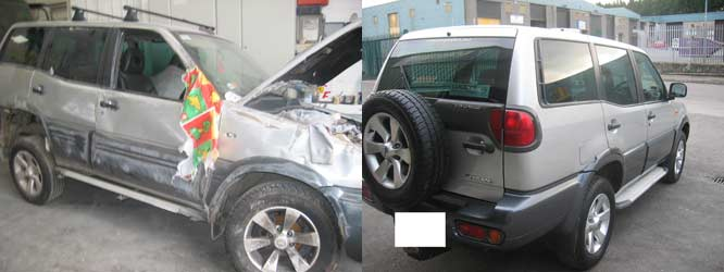 Jeep - before and after
